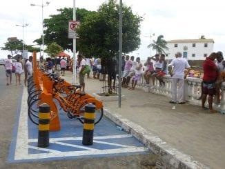 Salvador vai de Bike é um projeto patrocinado pelo Itaú, projeto que veio para ficar e tem muitos adeptos na cidade.