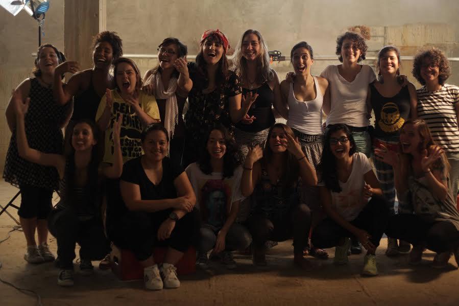 Elenco contou com a participação de Amanda Tedesco, Clara Anastácia, Elisa Ottoni e Karina Diniz