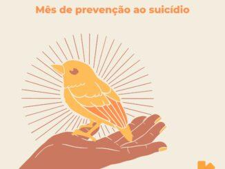 """Amarelo """"SE PRECISAR, PEÇA AJUDA"""""""